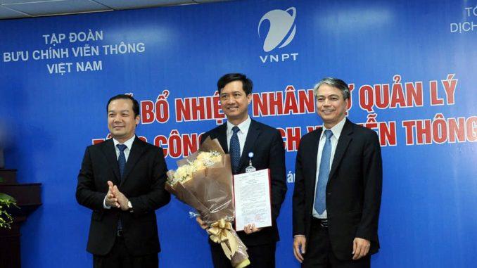 bổ nhiệm Tổng Giám đốc VNPT-VinaPhone